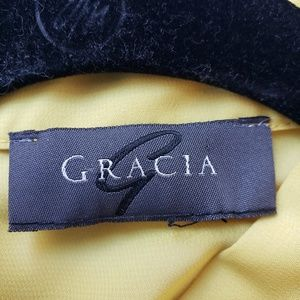 Gracia Tops - Short sleeve ruffle with bow blouse